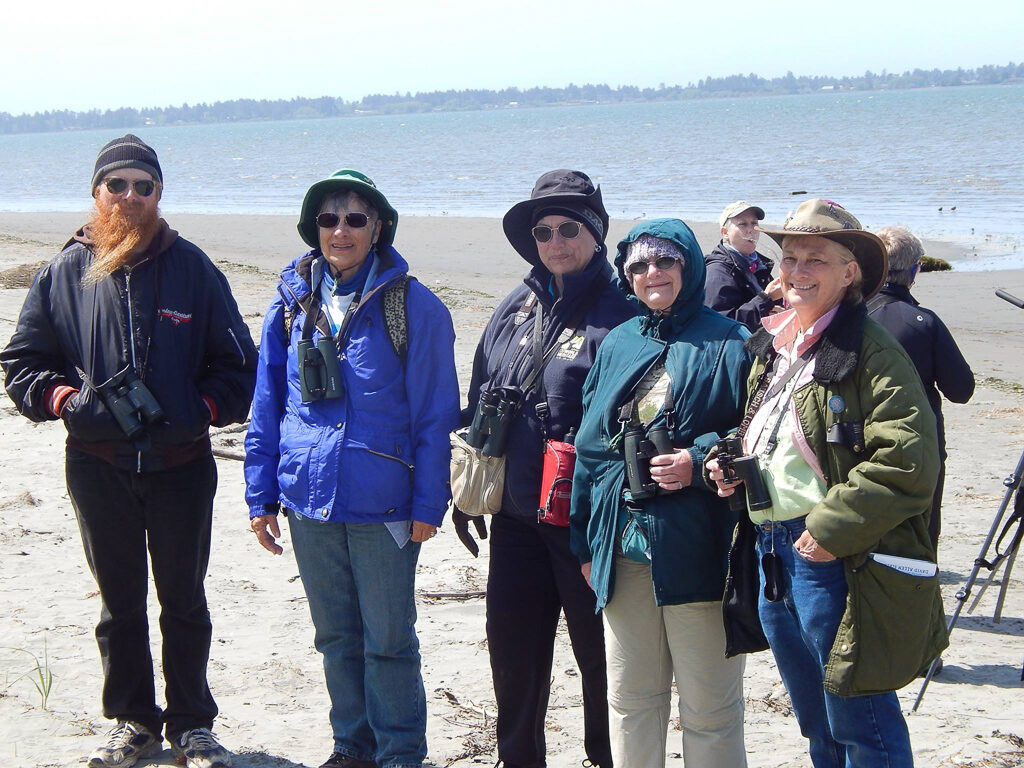 The rag-tag crew is me and my sisters and a nephew:  l to r:  Tanner Pinkal, Rita Schlageter, Mary O'Neil, Margaret Beitel and Cecilia Pinkal at Ocean Shores