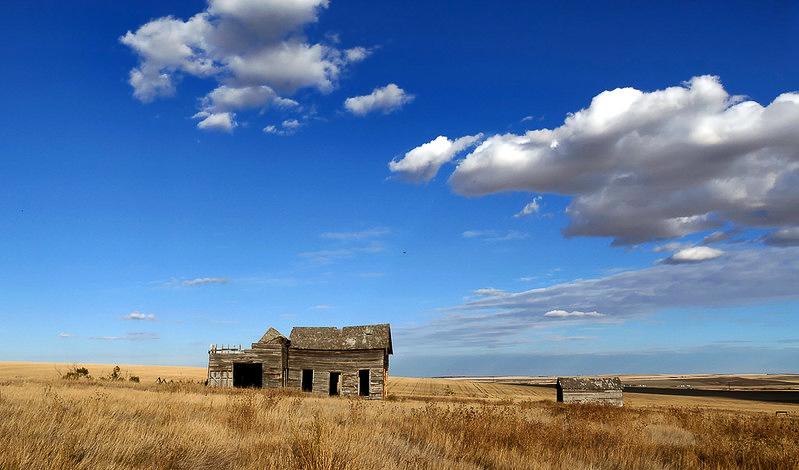 Alberta's rural areas left behind.  Photo from Flicker open source.