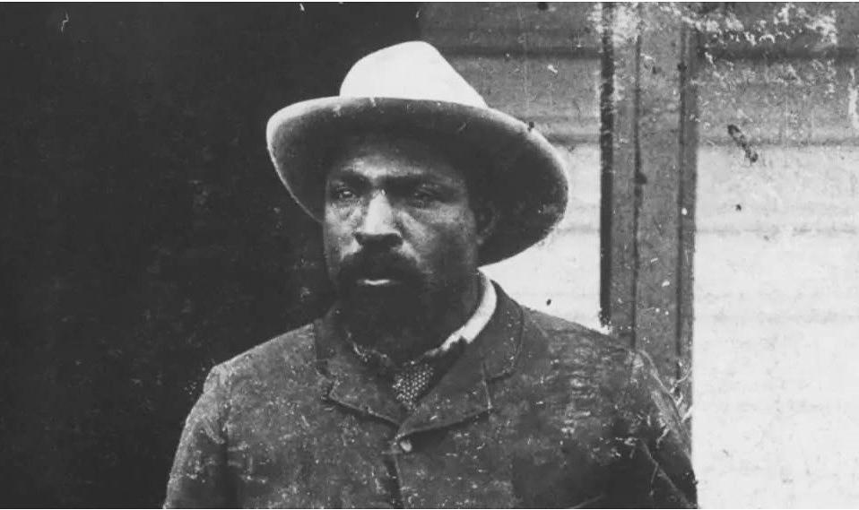 Photo of cowboy John Ware. From John Ware: Reclaimed.