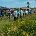 An exciting farm tour! (M. Rafferty)